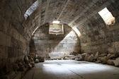 Basement under Zeus temple — Stock Photo