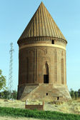 Vieille brique turbe — Photo