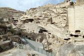 Ruiner och grottor — Stockfoto