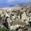 landscape in cappadocia — Stock Photo