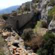Wall of Kantara castle — Stock Photo