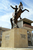 Ataturk and horse — Stock Photo