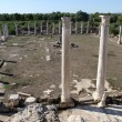 Columns in Salamis, North Cyprus — Stock Photo