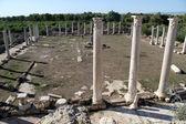 Sloupce v salamině, severní kypr — Stock fotografie