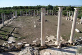 Kolumner i salamis, norr cypern — Stockfoto