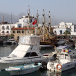 Port in Girne — Stock Photo