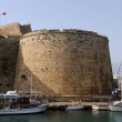 Stock Photo: Fortress and boats
