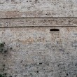 Stock Photo: Wall of fortress