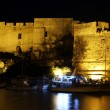 Stock Photo: Fortress at night