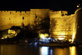 Fortress at night — Stock Photo