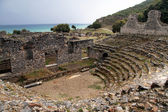 Ruins of odeon — Stock Photo