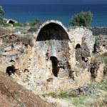 Ruins in Anamurum — Stock Photo