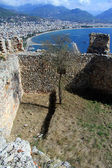 Rovine in alanya — Foto Stock