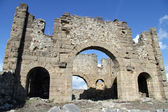 Temple in Aspendos — Stock Photo