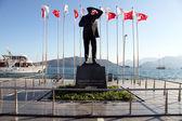 Bronze Ataturk — Stock Photo