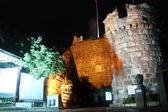 Entrance of castle — Stock Photo