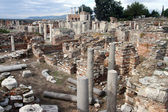 Ruins of Saint John basilica — Stock Photo