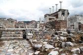 Ruins of basilica — Stock Photo