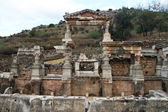 Ruins in Ephesus — Foto Stock