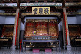 Altar in chinese temple — Стоковое фото