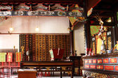 в буддийском храме — Стоковое фото