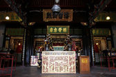 In buddhist temple — Stock Photo