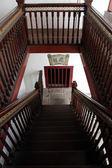 Wooden steps — Stockfoto