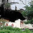 Temple in cave - Stock Photo