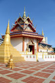 Stupa and temple — Stock Photo