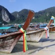 Stock Photo: Traditional boats