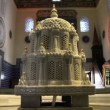 Fountain in mosque — Stok video