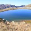 Stock Video: Small blue lake in Karchkar