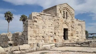 Ruins of Ayios Philion — Stock Video