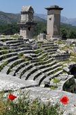 Ruinen des Theaters — Stockfoto