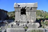 Kamienny sarkofag — Zdjęcie stockowe