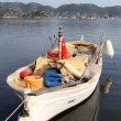 Foto Stock: Wooden boat