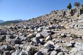Ruins in Selge — Stock Photo