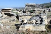Ruiny v hyerapolis — Stock fotografie