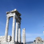 Trajan temple — Stock Photo #34949009