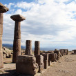 Columns in Assos — Stock Photo