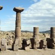 Columns of Athena temple — Stock Photo