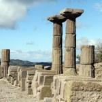Athena temple — Stock Photo