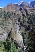 Long waterfall — Stock Photo