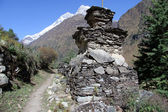 Footpath in Nepal — Stockfoto