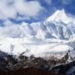 Stock Photo: Manaslu peaks