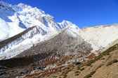 Slope of Manaslu — Photo