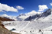 Lake and snow — Foto de Stock