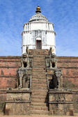 Temple in Bhaktapur — Stock Photo