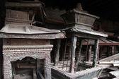 Dusty shrines — Stock Photo