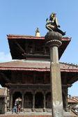 Temple in Patan — Stock Photo
